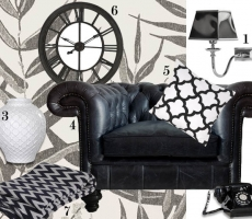 How to: Put a monochrome room together