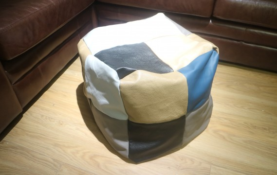 Patchwork Cube Beanbag - 24 Panel