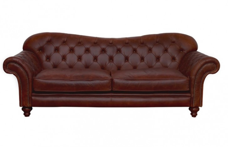Arundel vintage leather sofa chesterfield company Retro loveseats