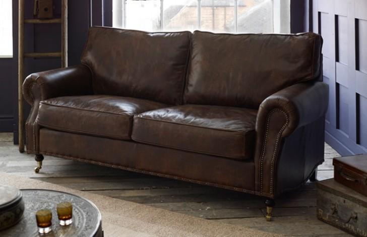 Berkeley Vintage Leather Sofa