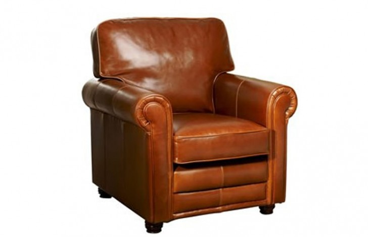 Lancaster English Leather Armchair