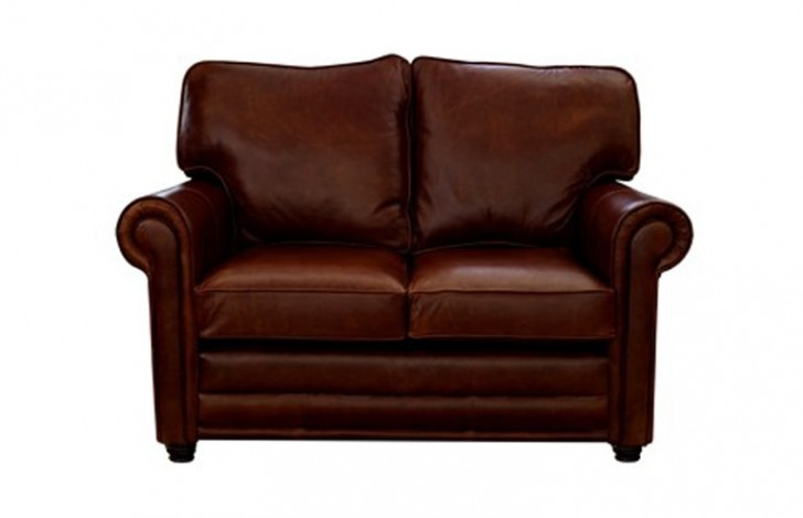 Lancaster English Leather Sofa Bed