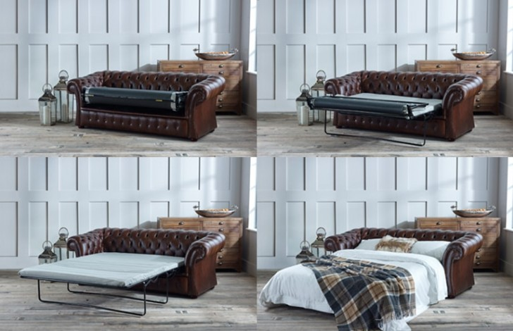 Gladbury Chesterfield Sofa Bed