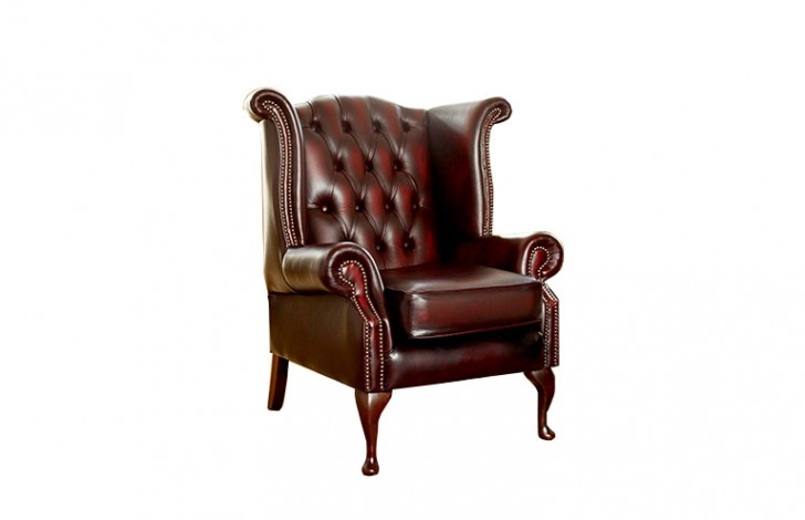 Scroll Wing Chair | Scroll Wing Chair | The Chesterfield Company