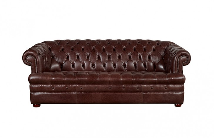Brown leather chesterfield sofa vintage leather chesterfield sofa pinterest thesofa Chesterfield brown leather sofa