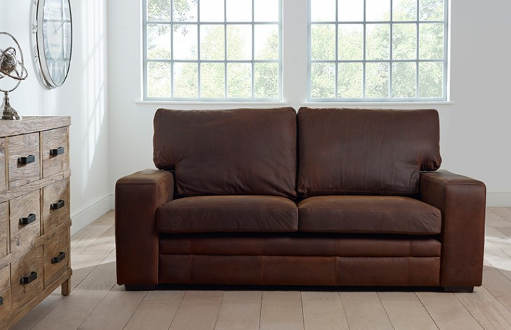 Windsor Nubuck Leather Sofa