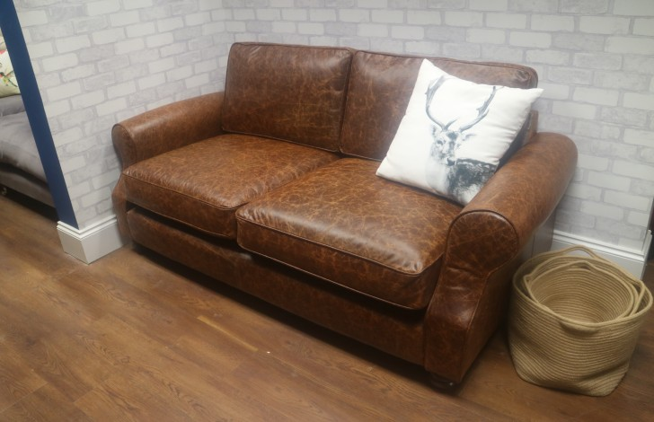Churchill - 3 Seater Sofa - Tan