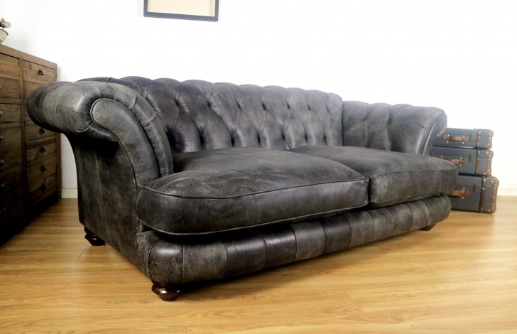 Edwin Leather Sofa | The Chesterfield Company