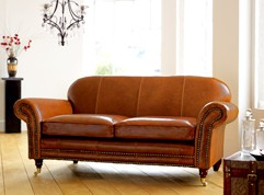 Henley Distinctive Leather Sofa