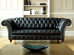 Black Leather Chesterfield | Balston