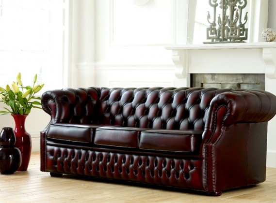 Richmond Grand Leather Sofa