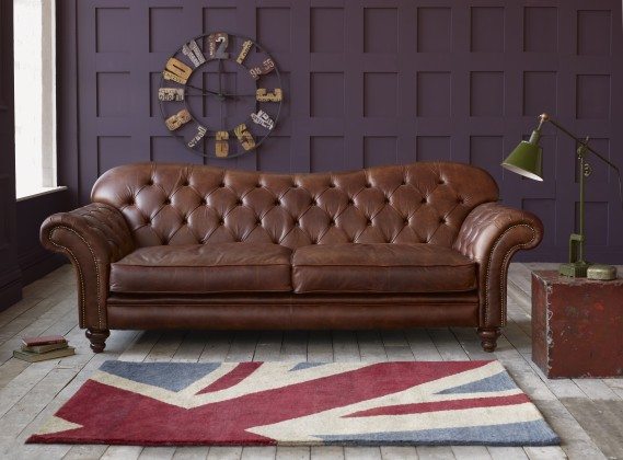 Leather Sofas for Sale: Handmade Suites, Settees & Couches