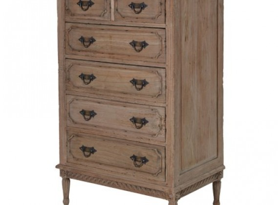 Colonial Reclaimed Pine 2/4 Chest