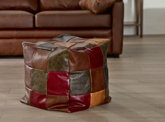 Patchwork Cube Beanbag