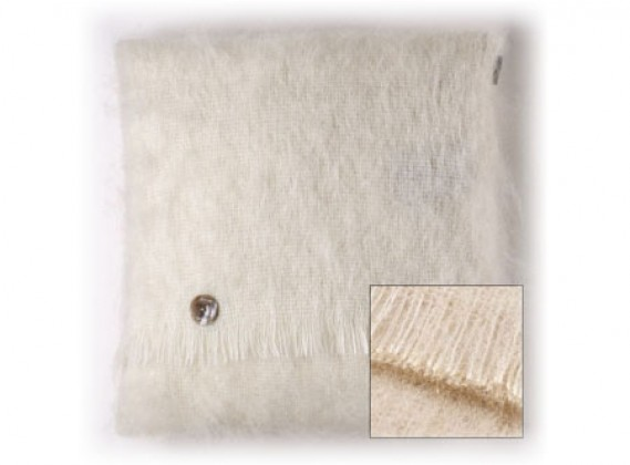Mohair Cushion Blonde