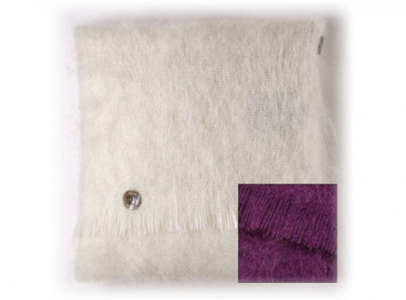 Mohair Cushion Clover