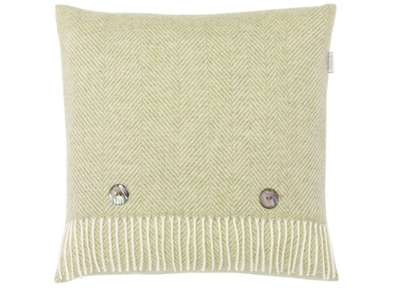 Herringbone Cushion Sage