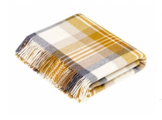 Gold Vienna Throw