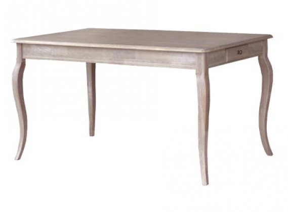 Belfort Shaped Leg Dining Table