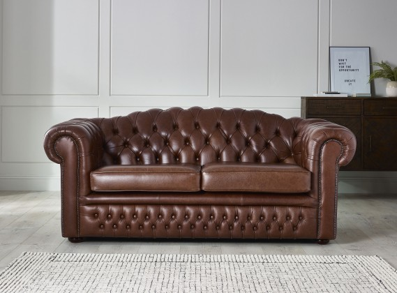 bbc570d60f9b1 Red   Oxblood Leather Chesterfield Sofas  Leather Suites   Settees