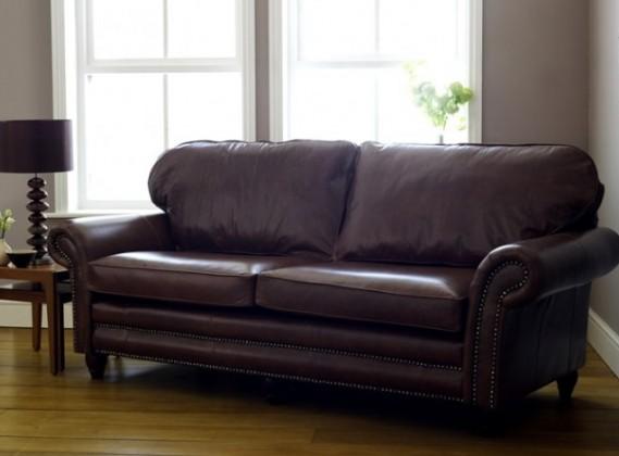 Canterbury Leather Sofa
