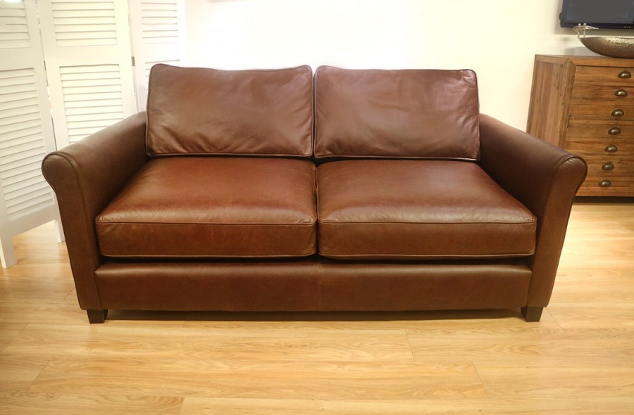 Salisbury - 3 Seater Sofa- Carson Chocolate