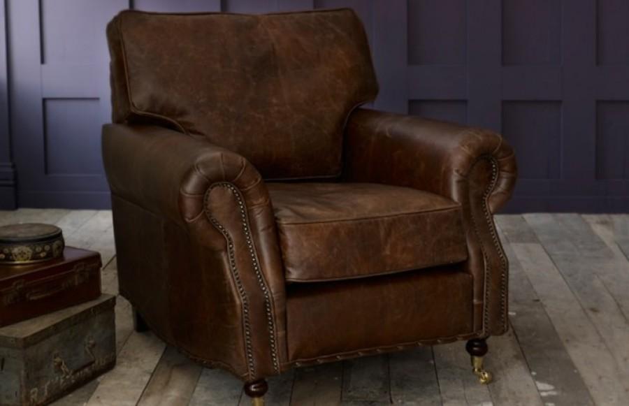 Berkeley 3.5 + Chair + Macy Ottoman Stool - Roast