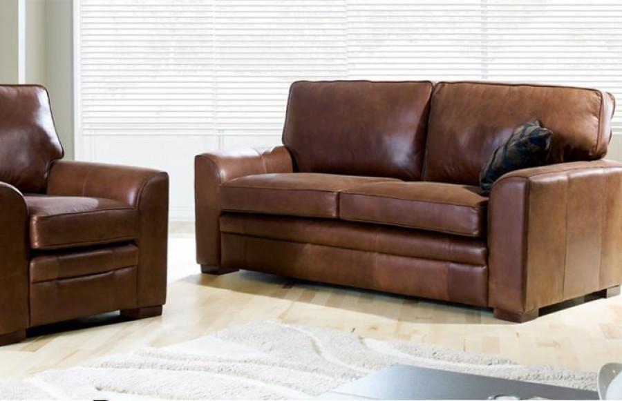 Liberty Chair + 1.5 Seater - Apache Tan