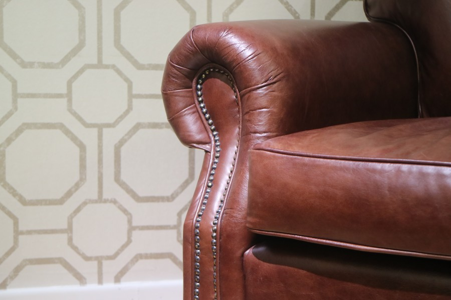 Berkeley Vintage Leather Chair - Chair - Cole Chestnut