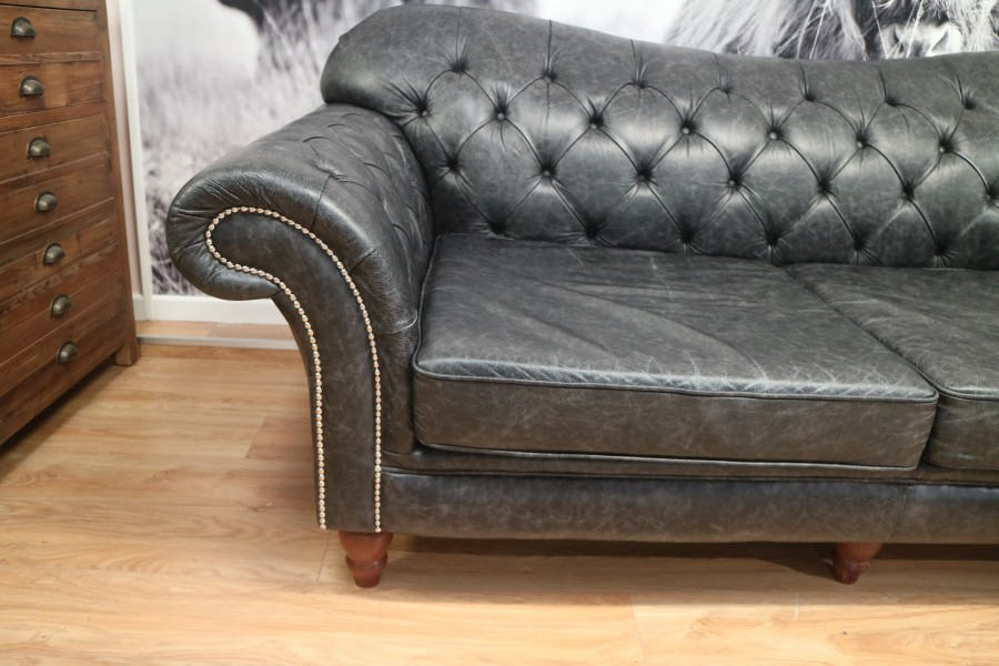 Arundel 3 Seater, 1.5 Seater + Balston Stool - Charcoal