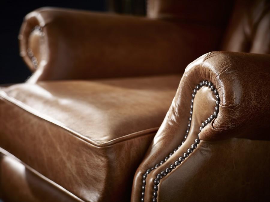 Berkeley Vintage Leather Chair - Chair - Vintage Truffle