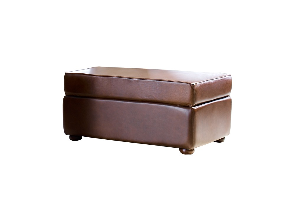 Leather Ottoman Macy The Chesterfield Company