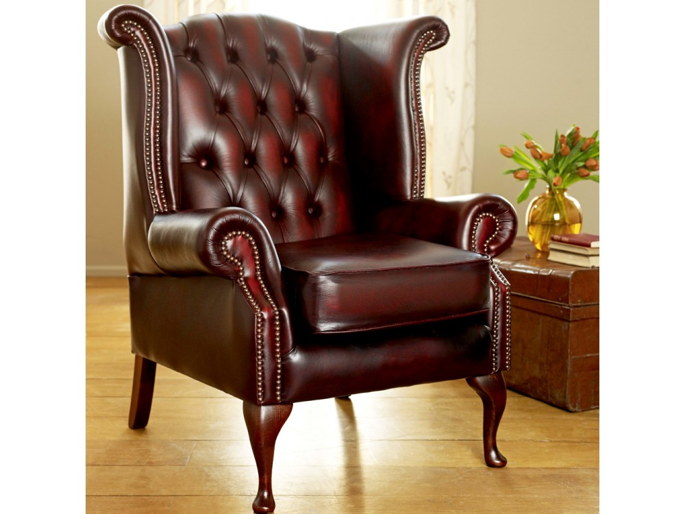 Beau Scroll Wing Chair