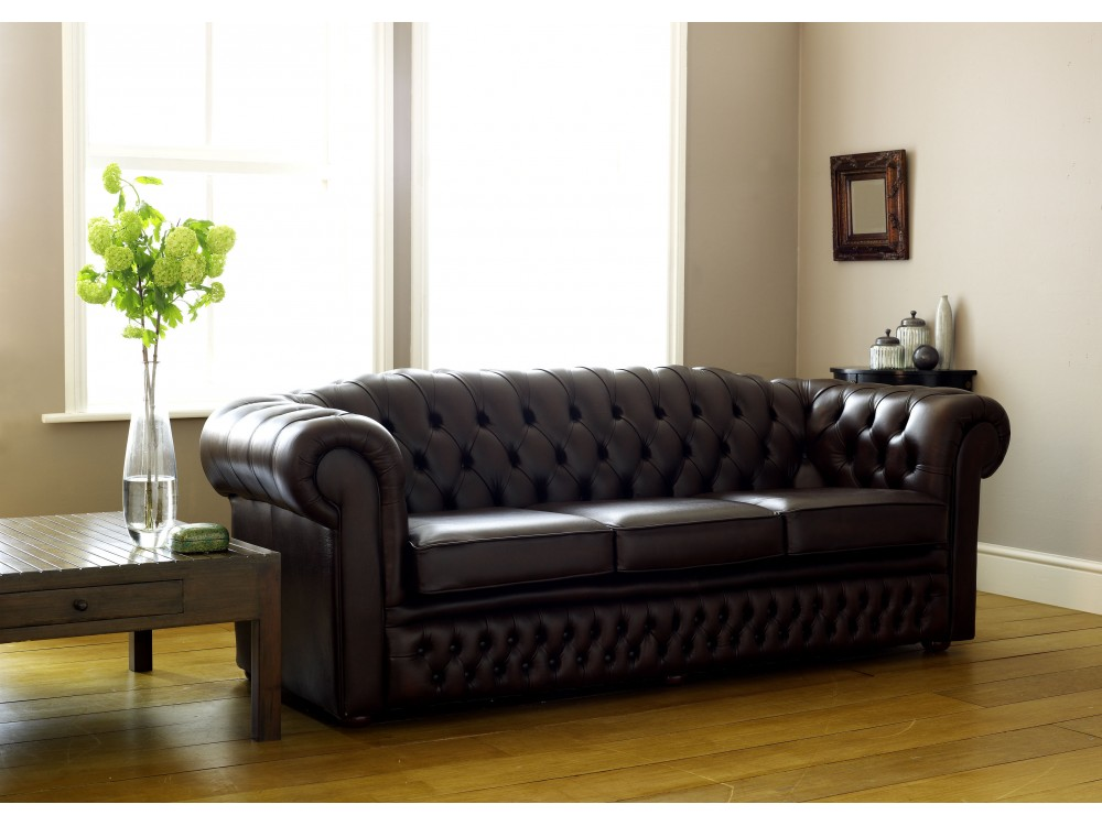 Classic Leather Chesterfield Oxley Click To Zoom