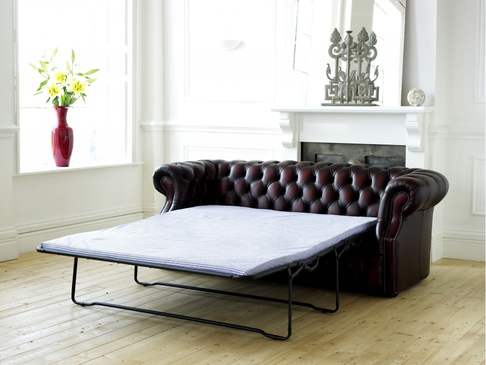 Leather Chesterfield Sofa Bed Richmond