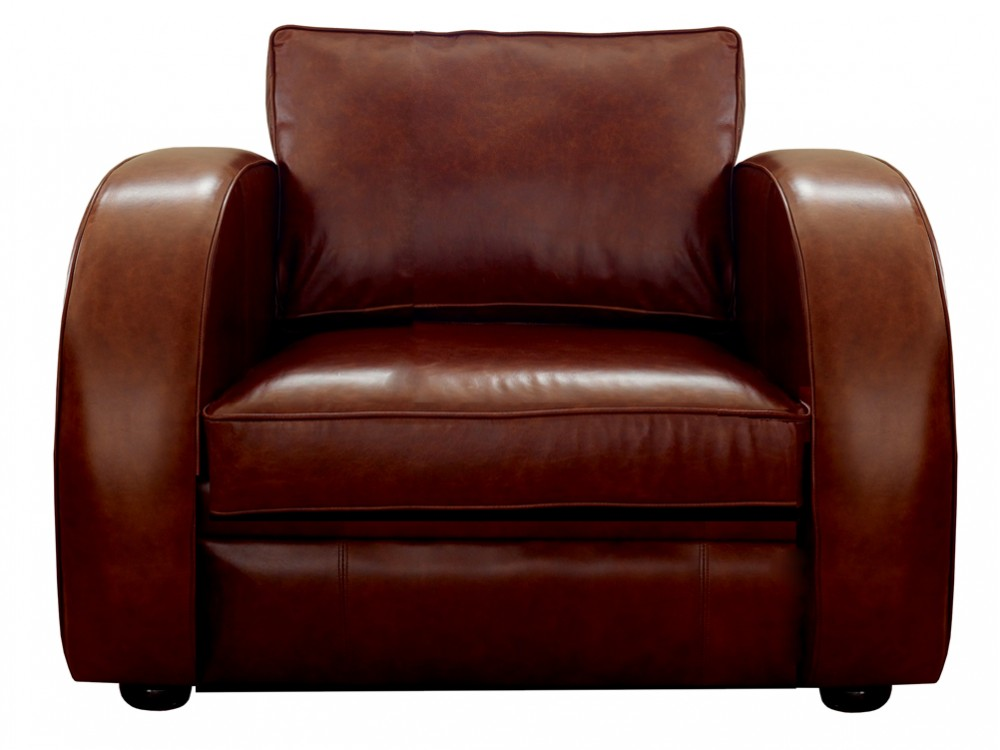 Leather armchair astoria leather armchairs for Armchair furniture