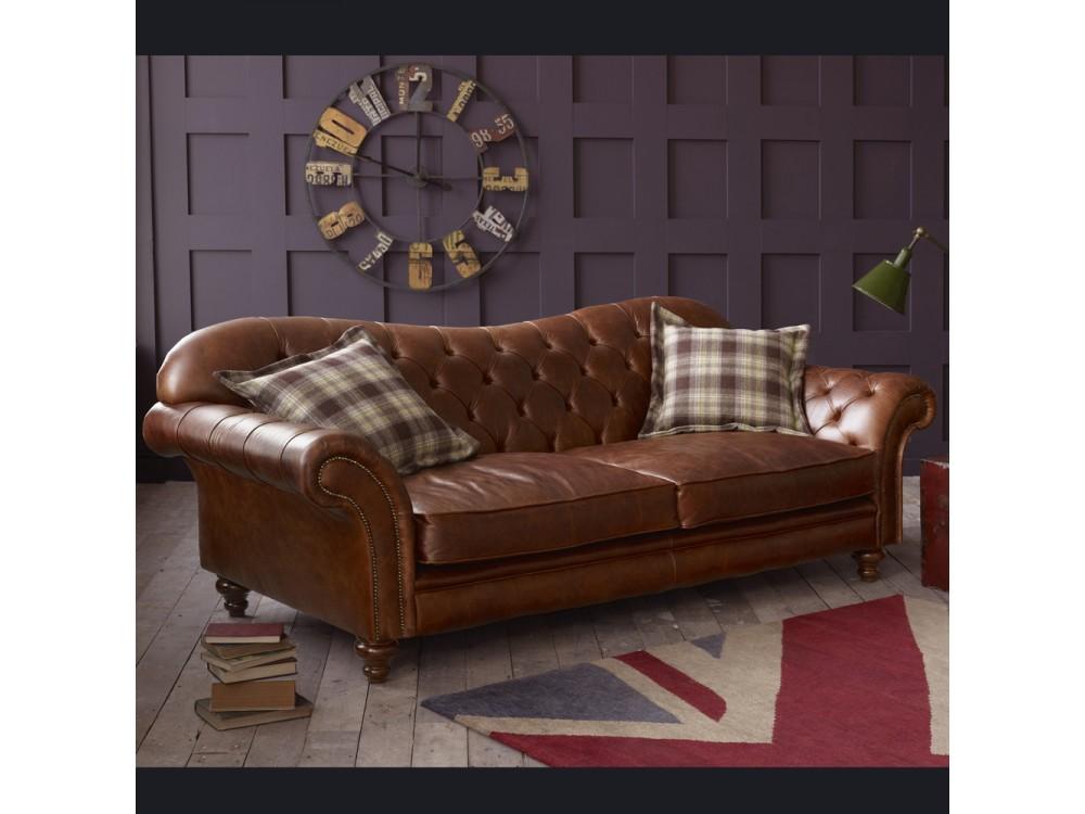 Vintage Brown Leather Sofa Arundel Living Room Sofas
