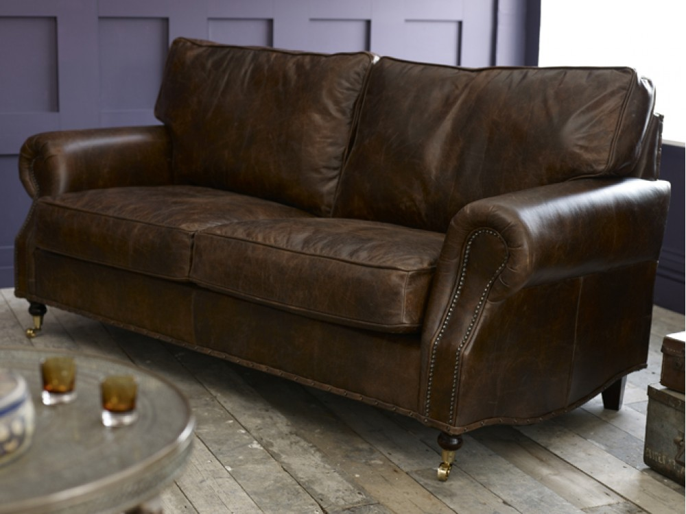 Berkeley Vintage Leather Sofa