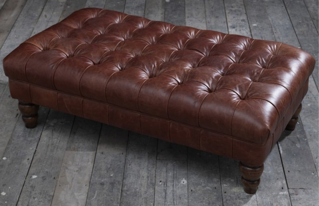 Arundel Footstool Chesterfield Company