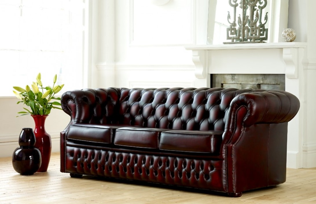 richmond leather chesterfield sofa beds. Black Bedroom Furniture Sets. Home Design Ideas