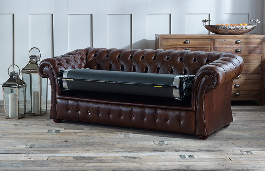 Free Leather Sofa Samples.Gladbury Sofa Bed Chesterfield ...