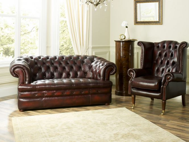 the return of vintage furniture vintage chesterfield sofas. Black Bedroom Furniture Sets. Home Design Ideas