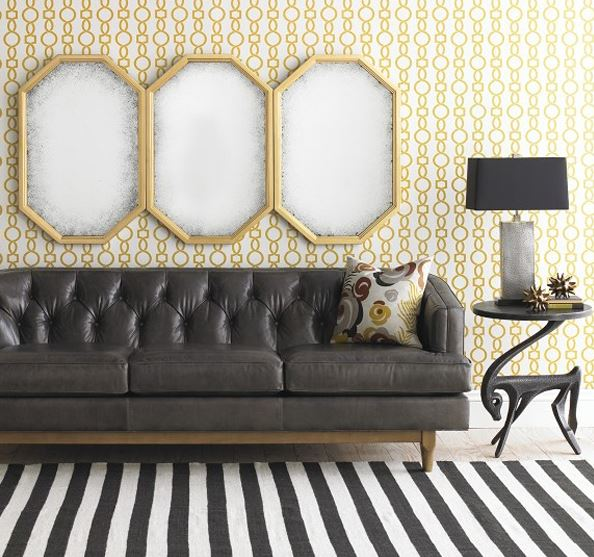 Art Deco Sofa Inspired Interior Design Blog